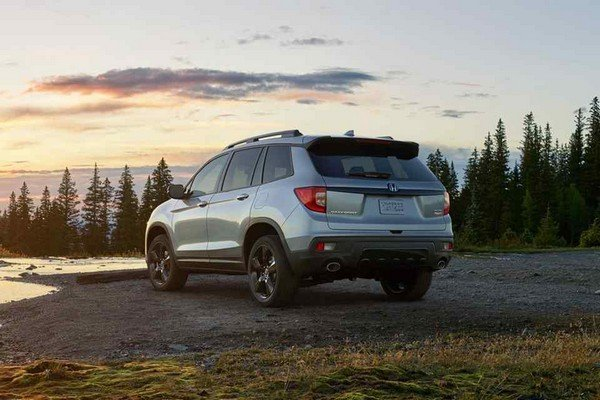2019 Honda Passport overall design