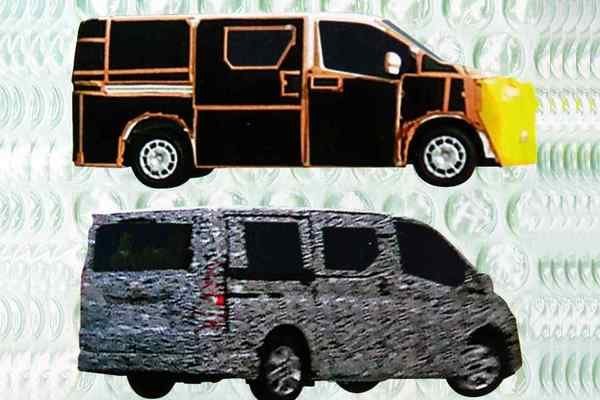 spy shot of the next gen toyota hiace 2019/2020