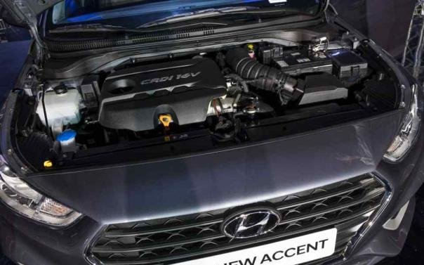 Hyundai Accent 2019 Philippines engine