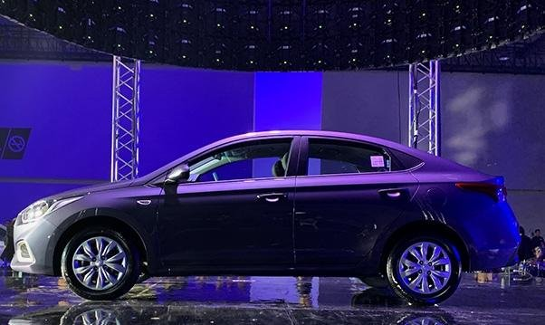 Hyundai Accent 2019 Philippines side view