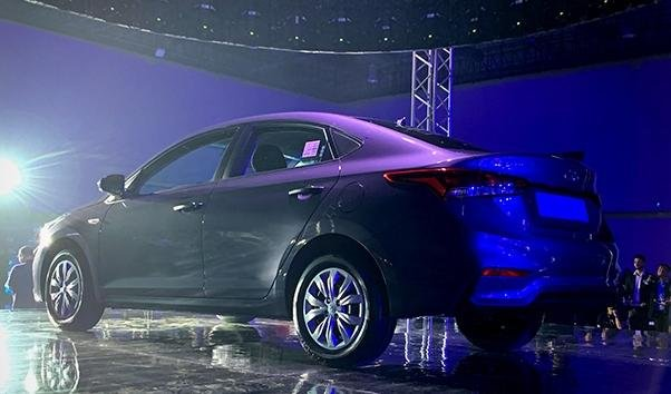 Hyundai Accent 2019 Philippines angular rear