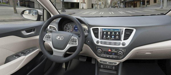 Hyundai Accent 2019 Philippines dashboard area