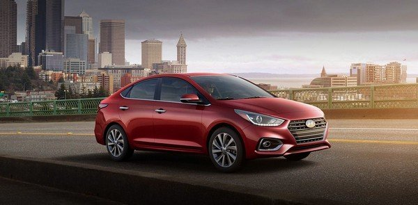 Hyundai Accent 2019 Philippine angular front