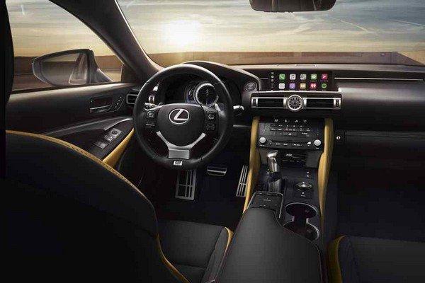 Lexus RC 350 2019 Interior