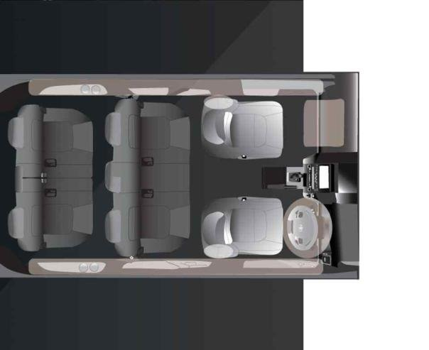 Toyota Rush 2019 seat configuration