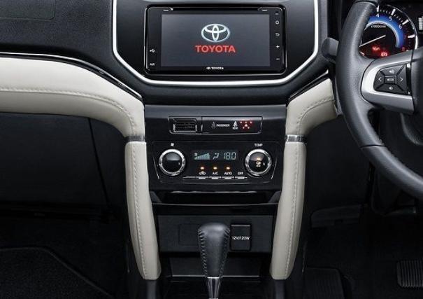 Toyota Rush 2019 dashboard area