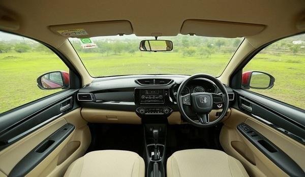 Honda Brio 2019 interior