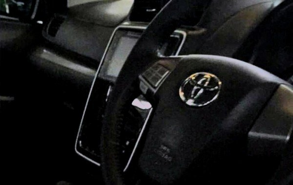 A photo of the Toyota Avanza 2019 facelift's interior