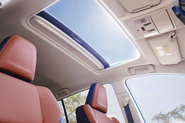 Car's moonroof