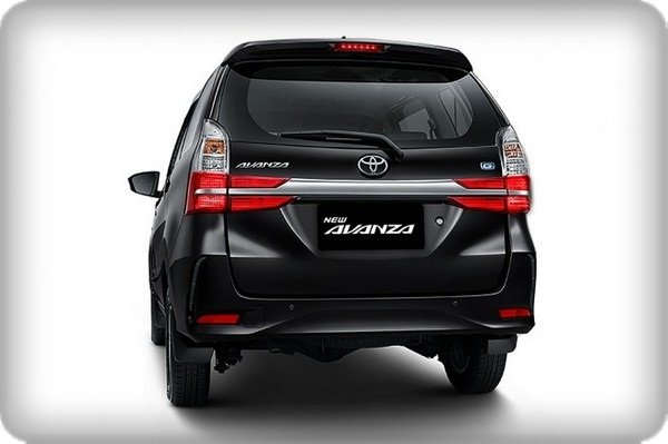 Toyota Avanza 2019 facelift rear view