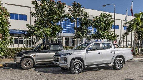 Mitsubishi Strada 2019 side view