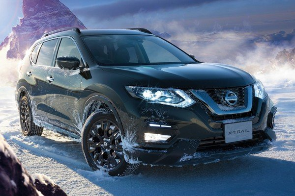 Nissan X-Trail X-Tremer X edition angular front