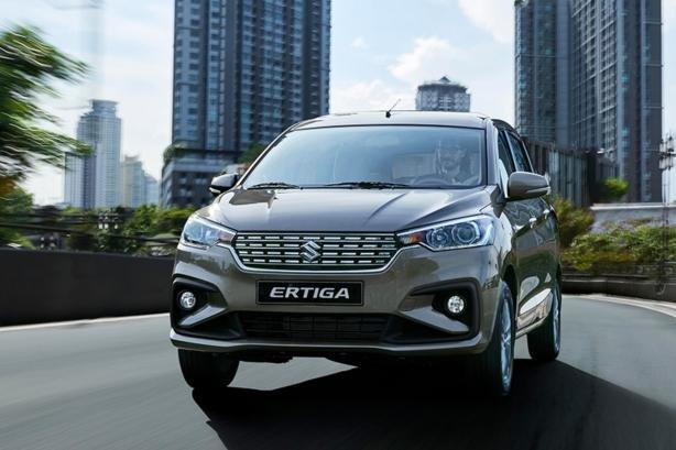 Suzuki Ertiga front view