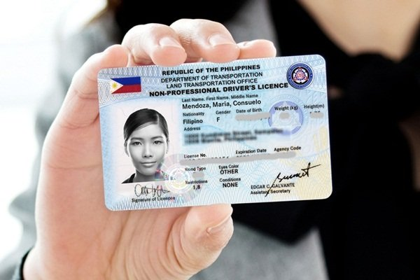 Buying car required documents_Driver's license
