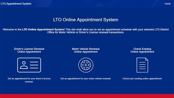 LTO online license renewal_access to the portal