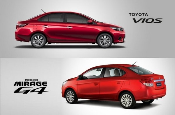 Vios vs Mirage
