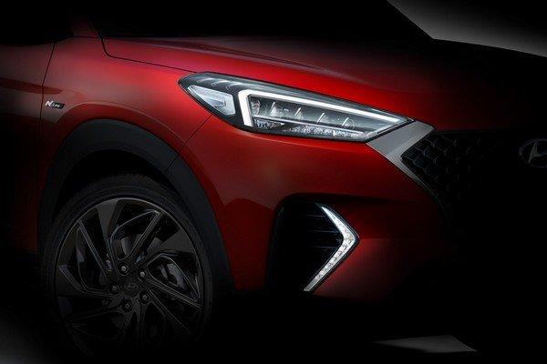 teased Hyundai Tucson N Line 2019