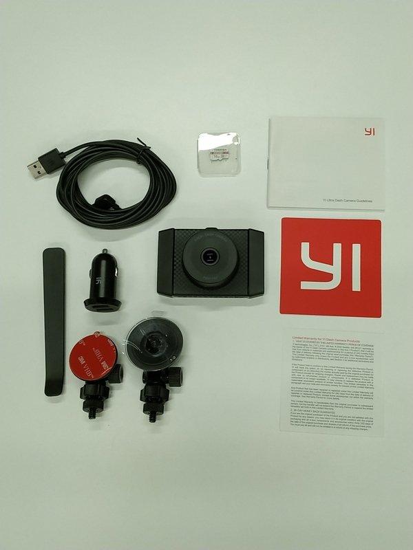 yi ultra dashcam full box