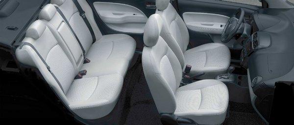 mitsubishi mirage g4 2019 seating
