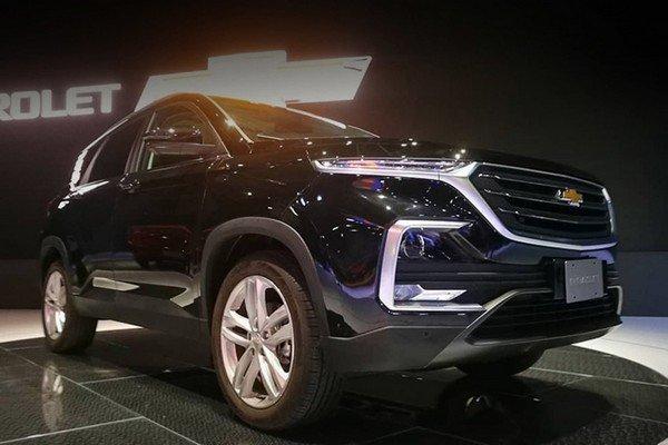 Chevrolet Captiva 2019 angular front