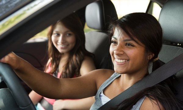 practice driving with adults to get student driver license