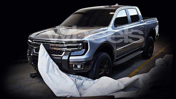 Ford Ranger 2020 angular front