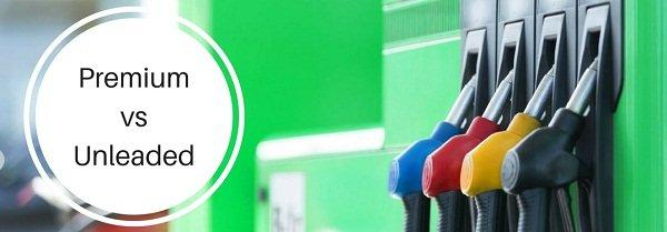 unleaded gasoline vs premium gasoline