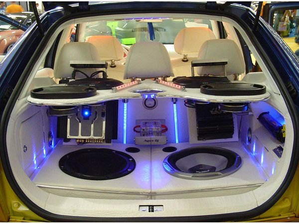Great quality sound car system