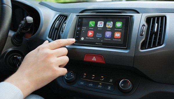 touch screen car audio system