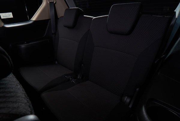 2019 Suzuki Ertiga Black Edition seats