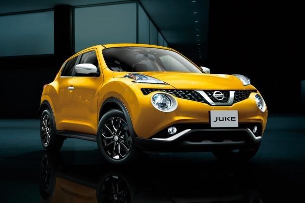 Nissan Juke 2018 angular front