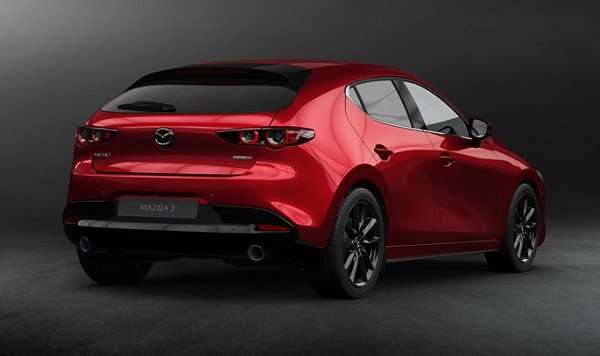 Mazda 3 2019 angular rear