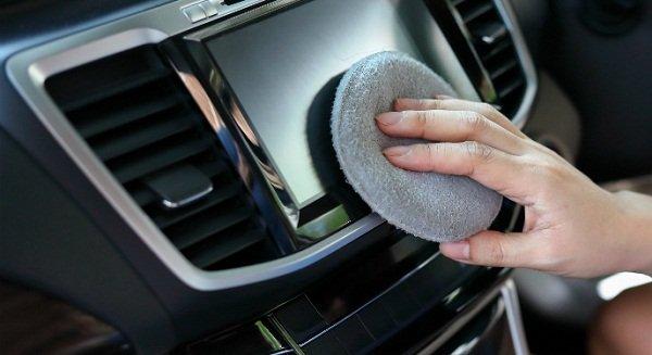 Clean touchscreen regularly