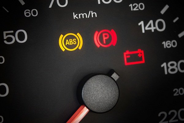 ABS warning light is on