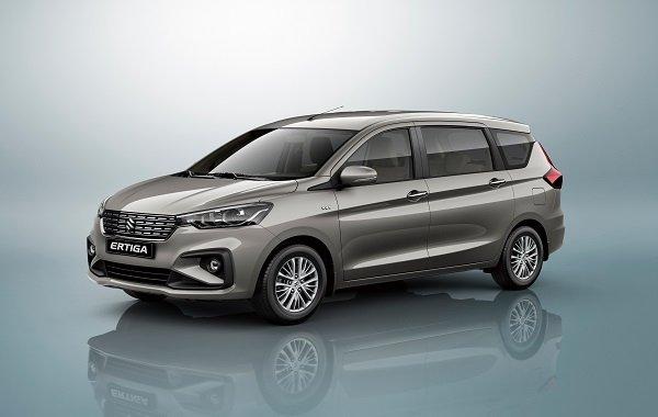 A shot of the 2019 Suzuki Ertiga exterior