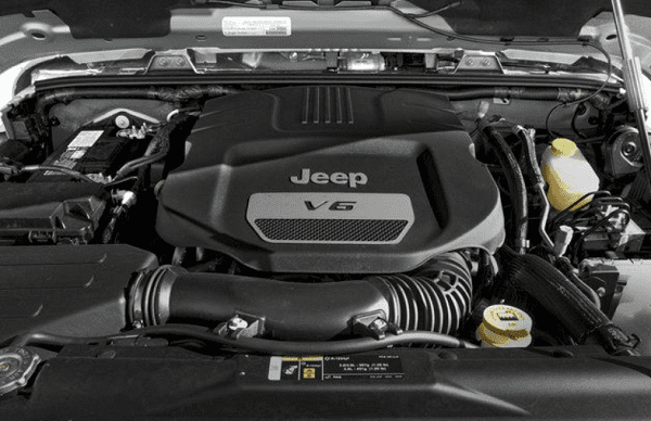 Jeep Wrangler Rubicon 2019 engine