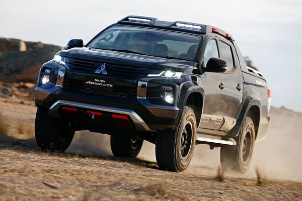 A picture of the concept Mitsubishi Triton Abolute on rough terrain
