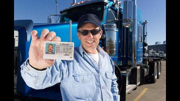 truck driver driving license