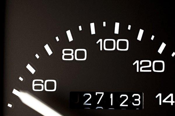Car gauge and mileage
