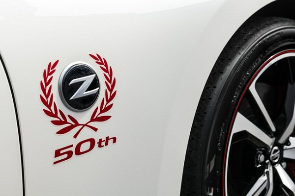 Nissan 370Z 50th anniversary badge