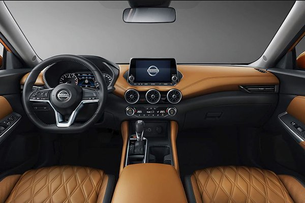 A picture of the Sylphy's interior