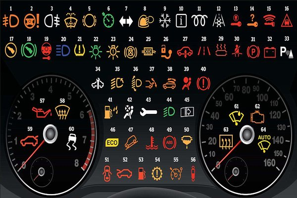 dashboard lights