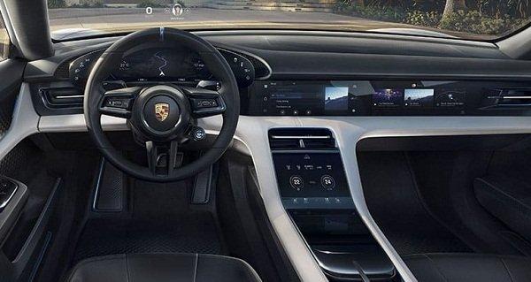 Porsche Taycan EV 2020:interior