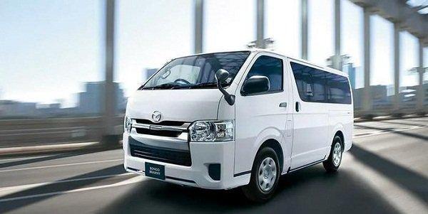 A picture of the Mazda Bongo Brawny 2019 cargo van