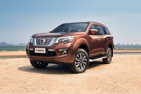 A picture of the Nissan Terra SUV