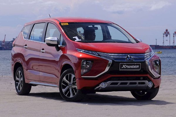 A picture of a red Mitsubishi Xpander