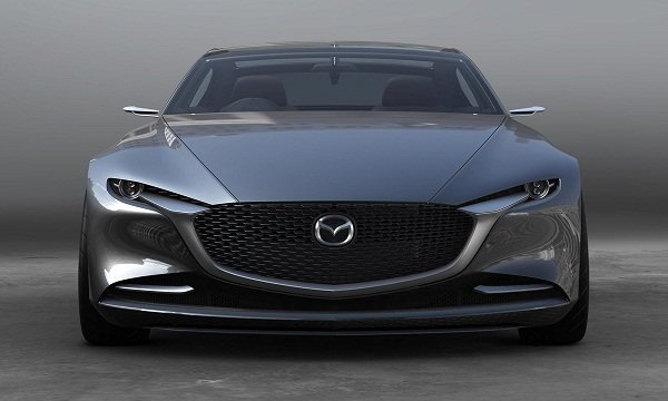 A picture of the front of the Mazda Vision Coupe