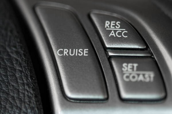 Cruise control of the car