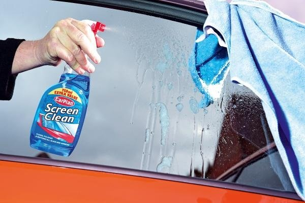car glass cleaner