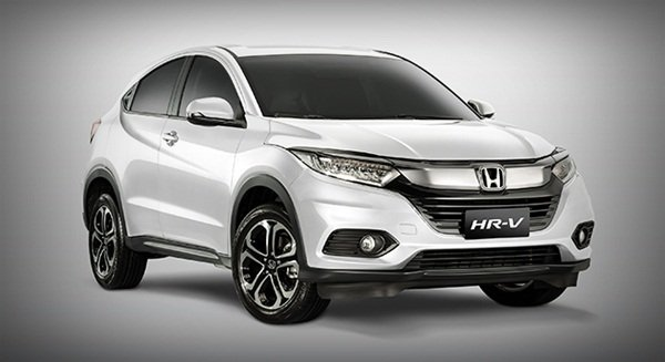 A picture of the front of the Honda HR-V E 2019 Philippines